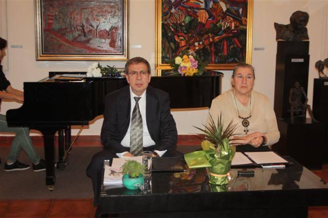 Осман Мустафов и Татяна Любенова